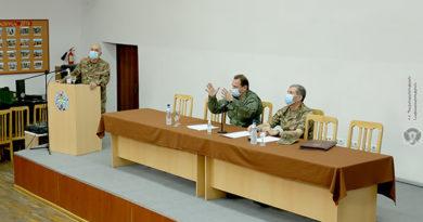 ՀՀ պաշտպանության նախարարը և ԶՈՒ գլխավոր շտաբի պետը մասնակցել են հավաքների ամփոփմանը