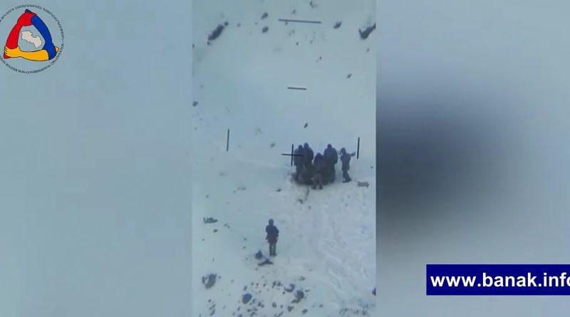 Տեսանյութ.Ազերինրի ոչ պրոֆեսիոնալ աշխատանքը, ձյունը մաքրելով ական են փնտրում, արդյունքում զոհեր ունեն